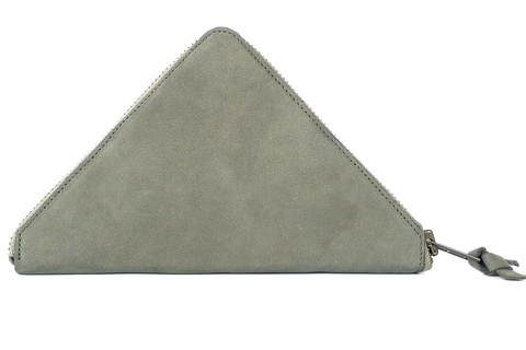 TRAMEZZINI - Triangle  zip wallet  - grey