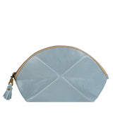Pyramid cosmetic bag - Light blue