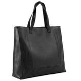 Cut out Shopper - black