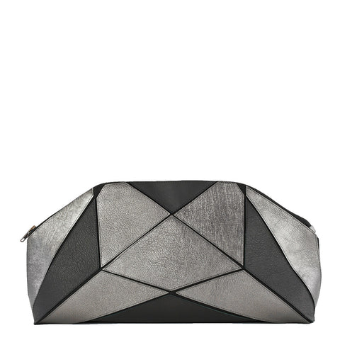 Fold it! XXL Clutch - Black / Metallic