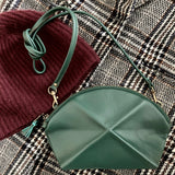 Pyramid cosmetic bag - Green