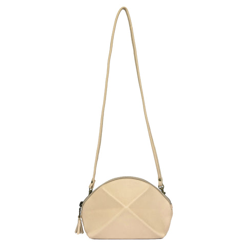 Pyramid Cross Body bag - Vanilla