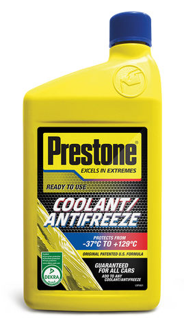 Prestone Antifreeze/Coolant Ready To Use 1L