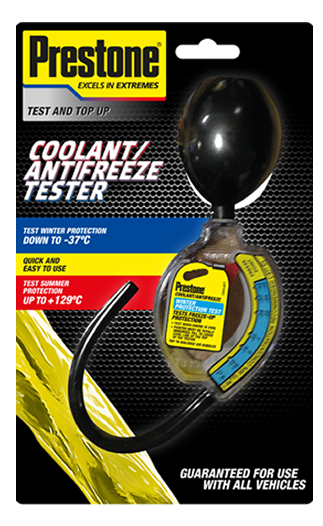 Prestone Antifreeze & Coolant Tester - Save and Drive Automotive Car  Accesories | Roof Box & Roof Bar Hire