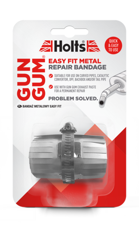 Holts Gun Gum Easy Fit Metal Repair Ends & Bends