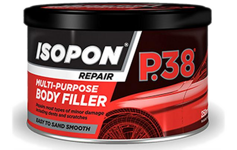 Davids P38 Car Body Filler Multi Purpose Easy To Sand 250ml