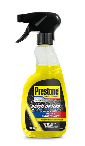 Prestone Rapid De-Icer Trigger Spray 500ml | saveanddrive.co.uk