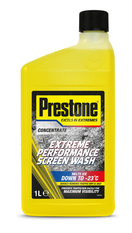 Prestone Extreme Concentrated Performance Screenwash