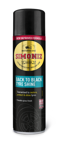 Simoniz Back to Black Tyre Shine