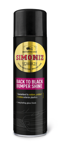 Simoniz Back to Black Bumper and Trim