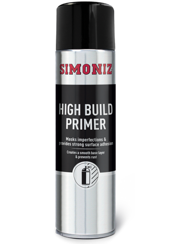 Simoniz High Build Filler Primer Acrylic Spray Paint 500ml SIMP90D