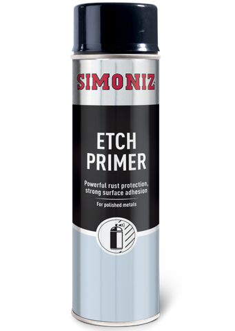 Simoniz Etch Primer Acrylic Spray Paint 500ml SIMP09D