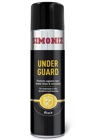 Simoniz Underguard Acrylic Under Seal Spray Paint 500ml SIMR14D
