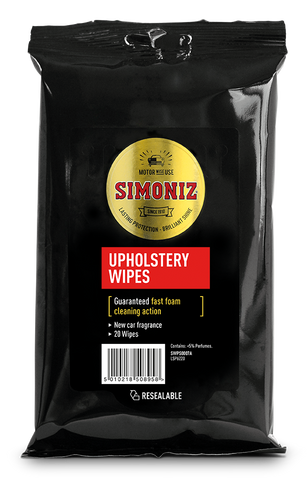 Simoniz Upholstery Wipes