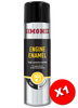 Simoniz Engine Enamel Aluminium Acrylic Spray Paint 500ml SIMVHT31D