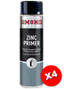 Simoniz Zinc Primer Acrylic Spray Paint 500ml SIMP10D