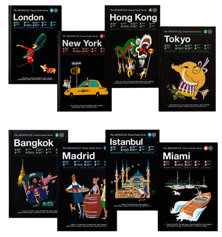 Monocle travel guide series OFFEN