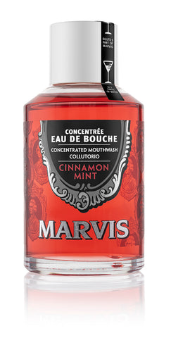 Marvis Concentrated Cinnamon Mint Mouthwash 120mL