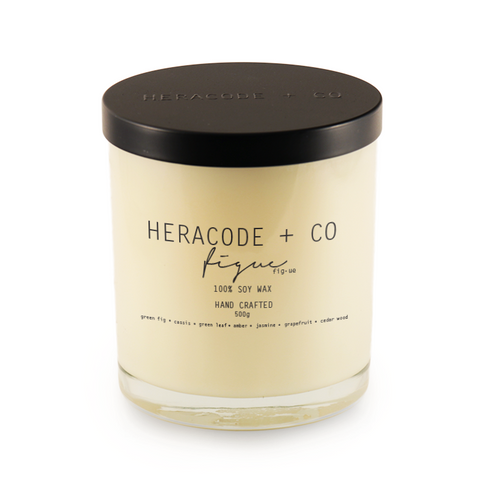 Heracode + Co Soy Candle Figue 500 ml