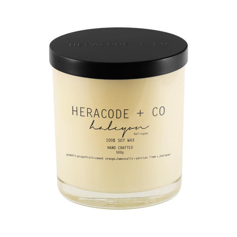 Heracode + Co Soy Candle Halcyon 500 ml