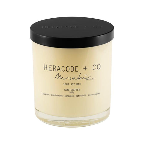Heracode + Co Soy Candle Meraki 500 ml