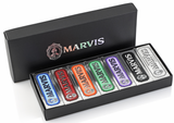 Marvis Toothpaste Black Box Collection Travel size 7 x 25mL