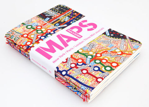 'MAPS' Mini Journals by Paula Scher - OFFEN - 1