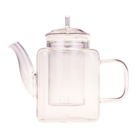 Quad Glass Teapot 450ml - Melez Tea