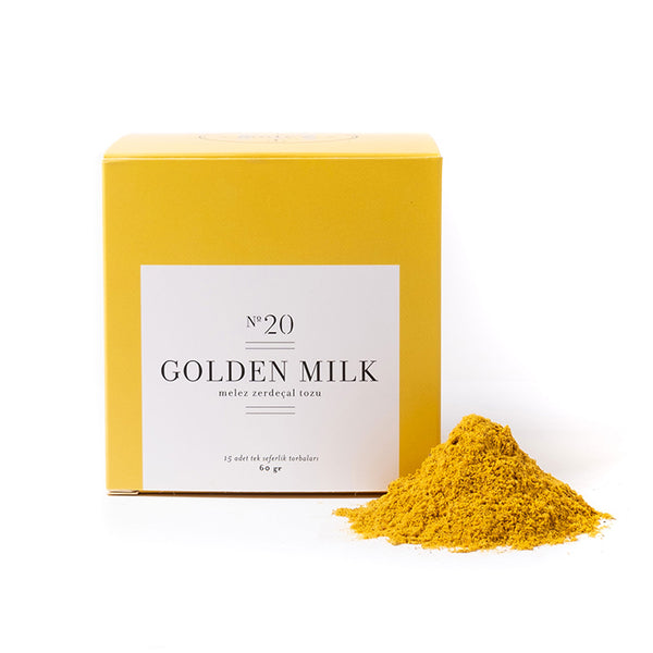 GOLDEN MILK - ZERDEÇALLI BAHARAT HARMANI-Melez Tea
