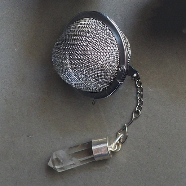 Crystal Quartz Tea Infuser - Melez Tea