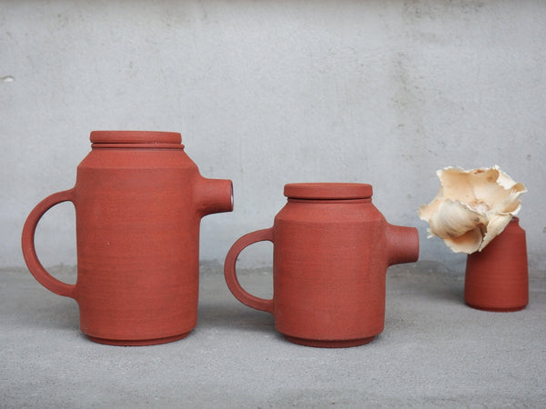 Roots Teapot 400ML - Terracotta