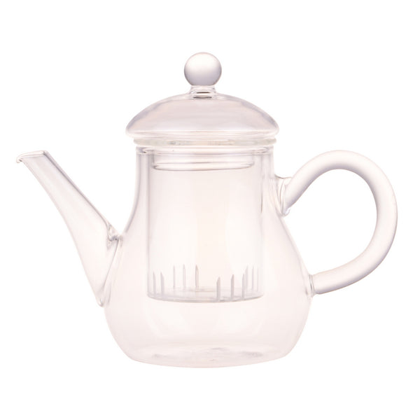 Glass Teapot for One - Melez Tea