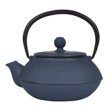 Cast Iron Teapot 300ml - Midnight Blue