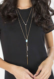 Lariat V Necklace