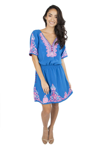 Linh Embroidered Dress