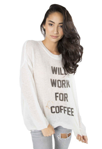 Coffee Bum Beach Bummies Sweater