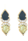 Double Crystal Earring