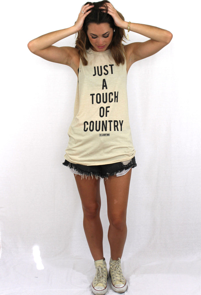 Touch of Country Muscle Tank
