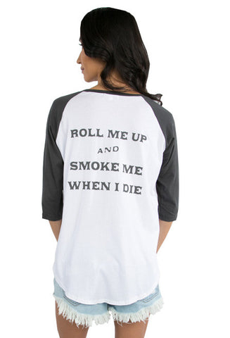 Smoke Me Billie Tee