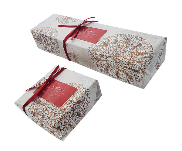 Sheva Jewelry Gift Wrapping Side view