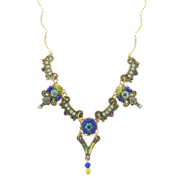 Ann Egan Mulberry Gemstones Necklace