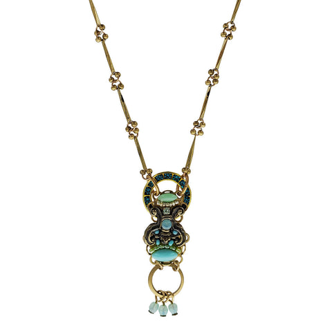 Ann Egan Aztec Pendant Necklace
