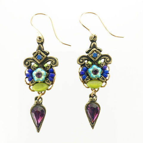Ann Egan Fluer Drop Earrings