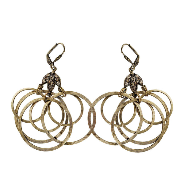 Anne Koplik Orbiting Hoops Earrings