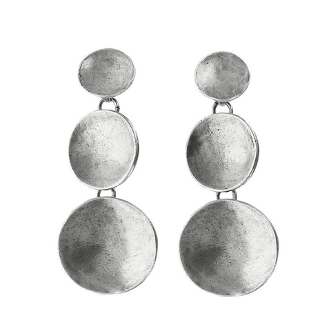 Avant Garde Paris Cascading Circle Coma Earrings