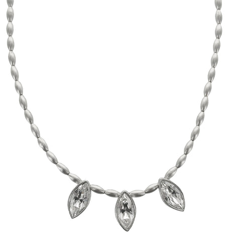 Avant Garde Paris Triple Marquise Crystal Kate Necklace
