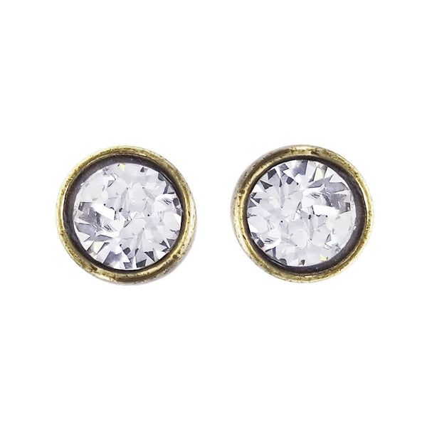 Avant Garde Paris Cherie Crystal Post Earrings