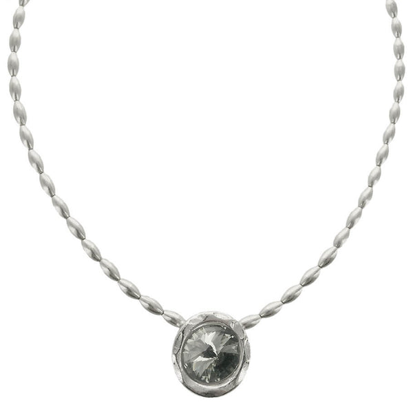 Avant Garde Paris Single Crystal Cherie Pendant Necklace
