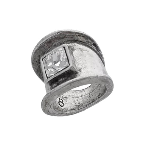Avant Garde Paris Crystal Rokh Ring Bottom View