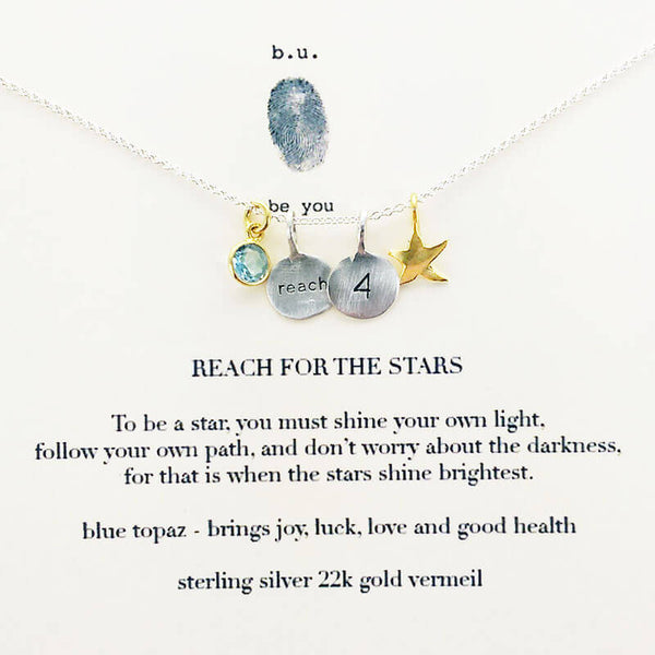 b.u. Reach For The Stars Necklace